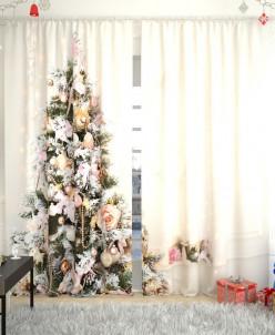 Фотошторы Новогодняя коллекция 130 Габардин