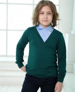 Обманка-джемпер Unik Kids зеленый