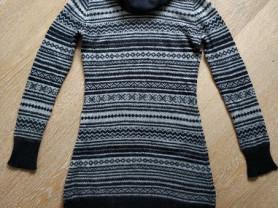 Zara  свитер-платье, б/у, 44-46