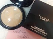 Mac mineralize пудра мак medium golden