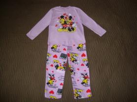 Новая пижама с героями из мульт. Disney 110р.