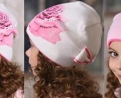 шапка Роза