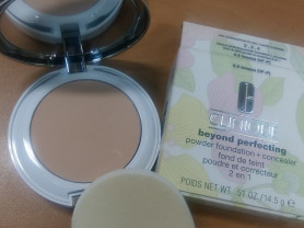 Clinique beyond perfecting крем пудра для лица