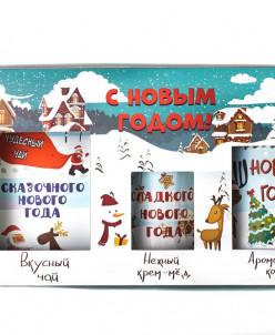 """Подарочный набор из 3 продуктов """"С новым годом"""""""