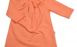 Платье однотонное (104, 116см)