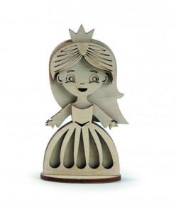 Деревянный Конструктор Маленькая принцесса