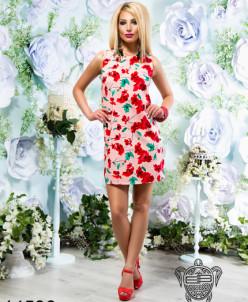 Летнее платье из льна - 14536