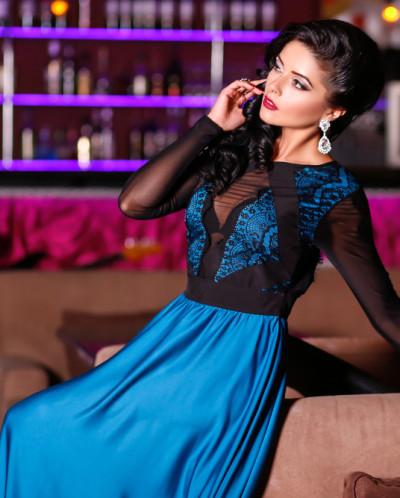 """Вечернее платье """"Лагуна"""" B3"""
