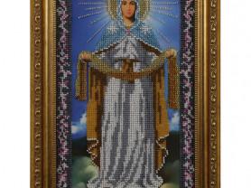 Икона бисером «Покров Пресвятой Богородицы»