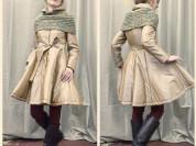пальто расклешенное 44-46