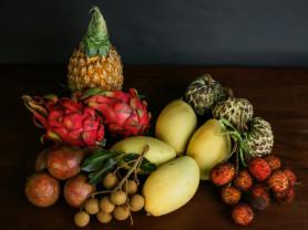 Экзотические фрукты и подарочные фруктовые наборы
