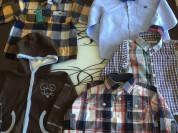 Рубашки для мальчика 1-2 года
