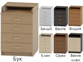 АТОН Комод раскладной БРАВО КР 80/3 ЛДСП