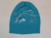 Новая голубая шапка на весну ОГ 50-52