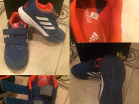 Легкие кроссовки на липучках Adidas Kids AltaRun (оригинал)