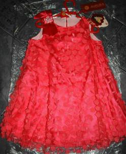 Платье Л*ейла коралл