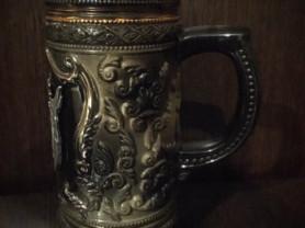 Пивная кружка коллекционная из Чехии, 300 мл