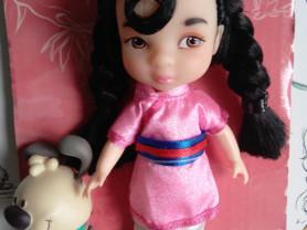 Мини-кукла Мулан Disney Animators