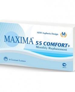 контактные линзы Maxima 55 Comfort+ (6 шт.)