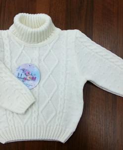 Детский свитер с горлышком Бусинка