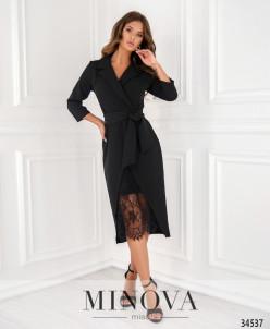 Платье №3016-1-Черный