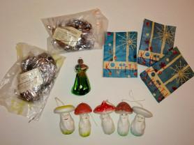 Елочные игрушки старые ссср советские