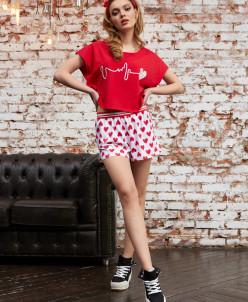 Пижамы футболка+шорты