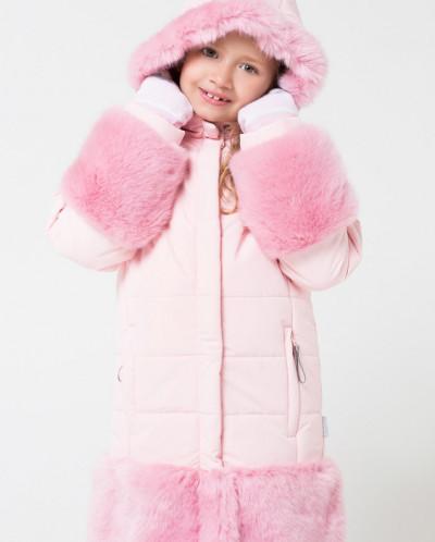 Пальто зимнее девочка Крокид Crockid зима 19-20