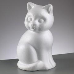 """2105 Фигурка из пенопласта """"Кошка"""" (1 шт.) - 14 см"""