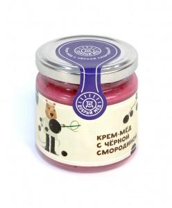 Крем-мед с черной смородиной 220 мл