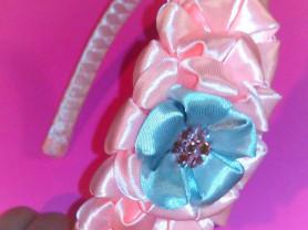 Красивые аксессуары канзаши,для девочек и мам