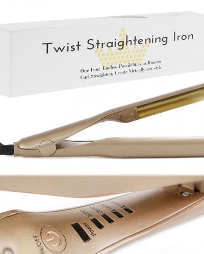 Стайлер для волос Twist straghtening iron 2in1