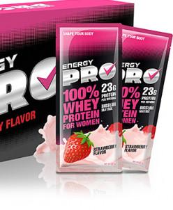 Energy PRO вкус клубника 1 пакетик