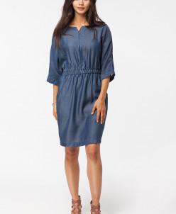 Платье из лиоцелла