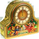 """АКЦИЯ!!! Чайные часы """"Время подарков/Gift Time"""" 100г., ж/б"""