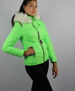 Куртки утепленные Плащевка Салатовый
