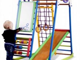 Домашний игровой комплекс для детей, с 9 месяцев до 7 лет