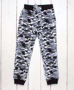 Спортивные штаны (футер) на манжетах
