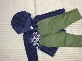 Carters комплект штанишки и флисовая кофта 2Т