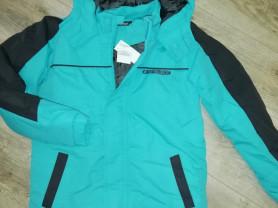 Куртка детская новая для мальчика р. 146, с капюшо
