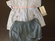 блуза с шортами Carters