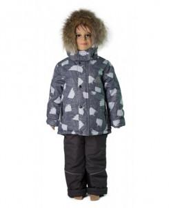 Комплект для мальчика «ЭДДИ» серый