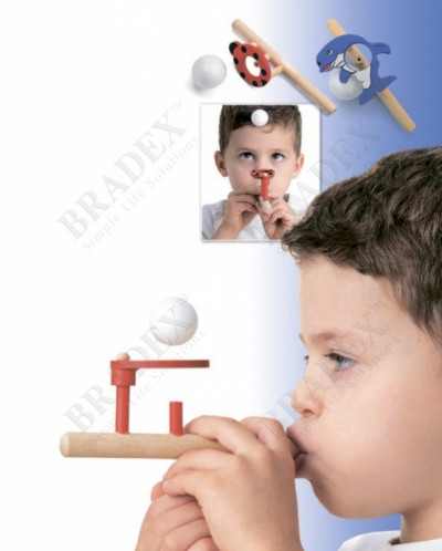 Аэробол для развития речевого дыхания «ДЕЛЬФИН»