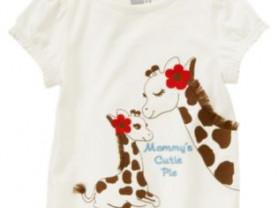 Футболка и юбка комплект с жирафами crazy 8 на 3-4
