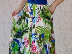 Новое длинное платье Forsara -Sogo Турция  44