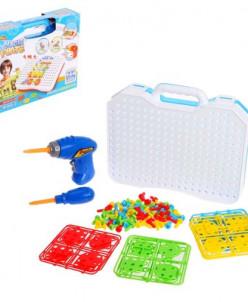 Конструктор в чемоданчике «Создавай и играй», 144 детали