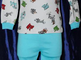"""Пижама детская """"Том и Джерри"""" р. 104 новая с этике"""