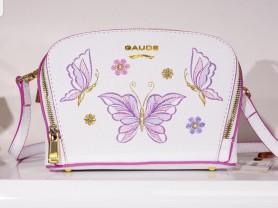 Новая сумка из сафьяновой кожи с вышивкой Италия