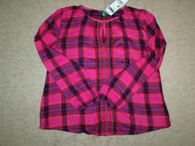 Блуза/туника Benetton для девочки (130 см), новая