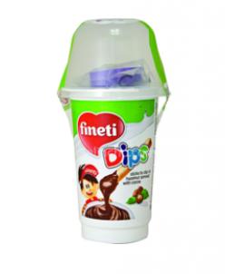 Fineti Dips паста из фундука хлеб.палочки  +игр. 45г